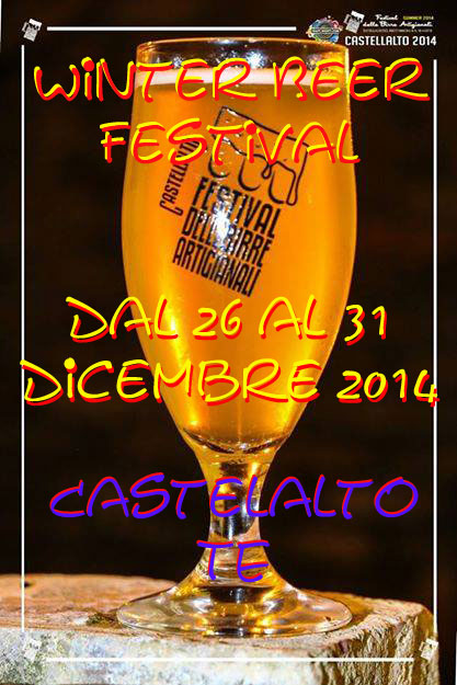 winter beer festival a Castellalto
