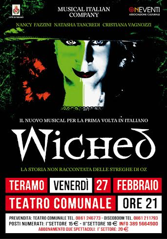 WICHED IL MUSICAL