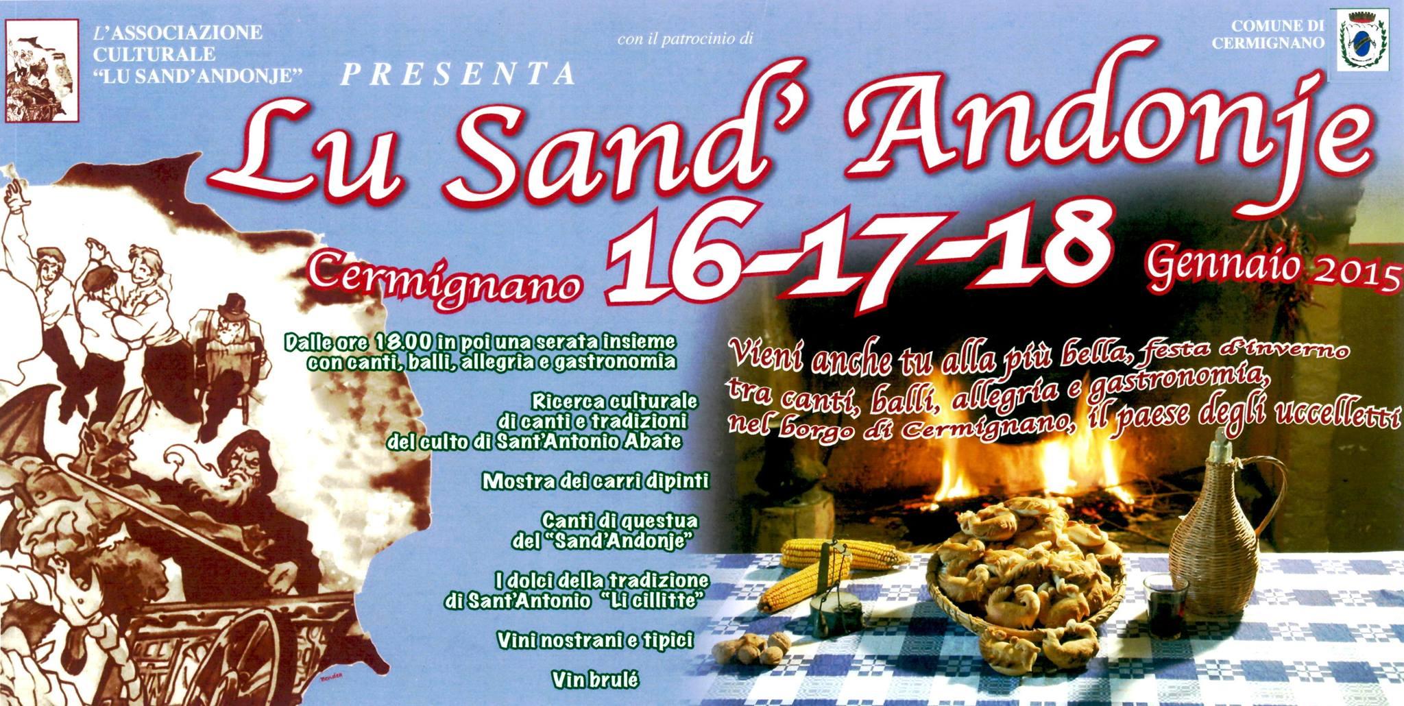 Lu Sand' Andonje a Cermignano