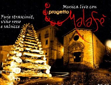 Fuoco di Sant'Antonio ,Tossicia 24/01/2015