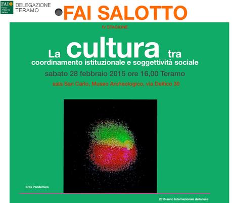 La cultura tra coordinamento istituzionale e soggettività tra sociale