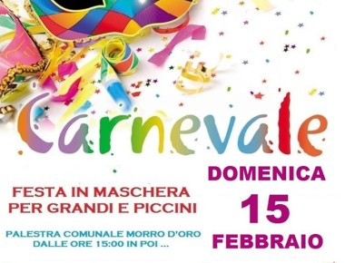 Il Carnevale dei bimbi a Morro d'Oro
