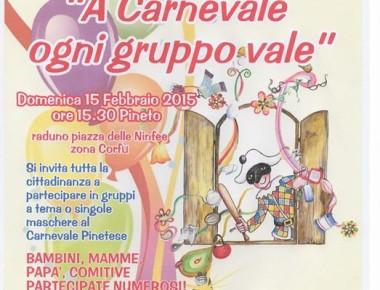 Carnevale Pinetese il 15/02/2015