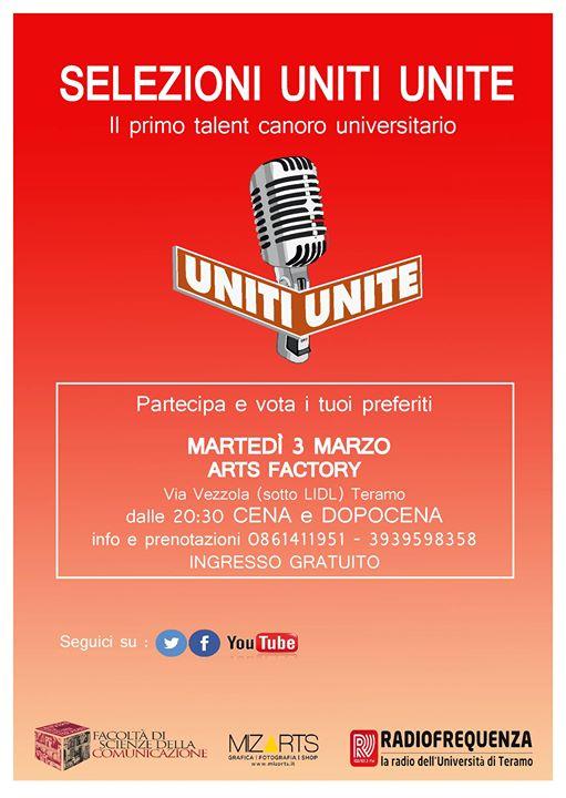 Uniti Unite Ultima Serata DI Selezione 03/03/2015