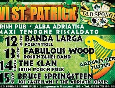 VI St. Patrick: dal 12 al 15 marzo ad Alba Adriatica