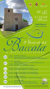 3° Festival del Baccalà e dello Stoccafisso dal 22/03 al 26/04 a Sant'Omero