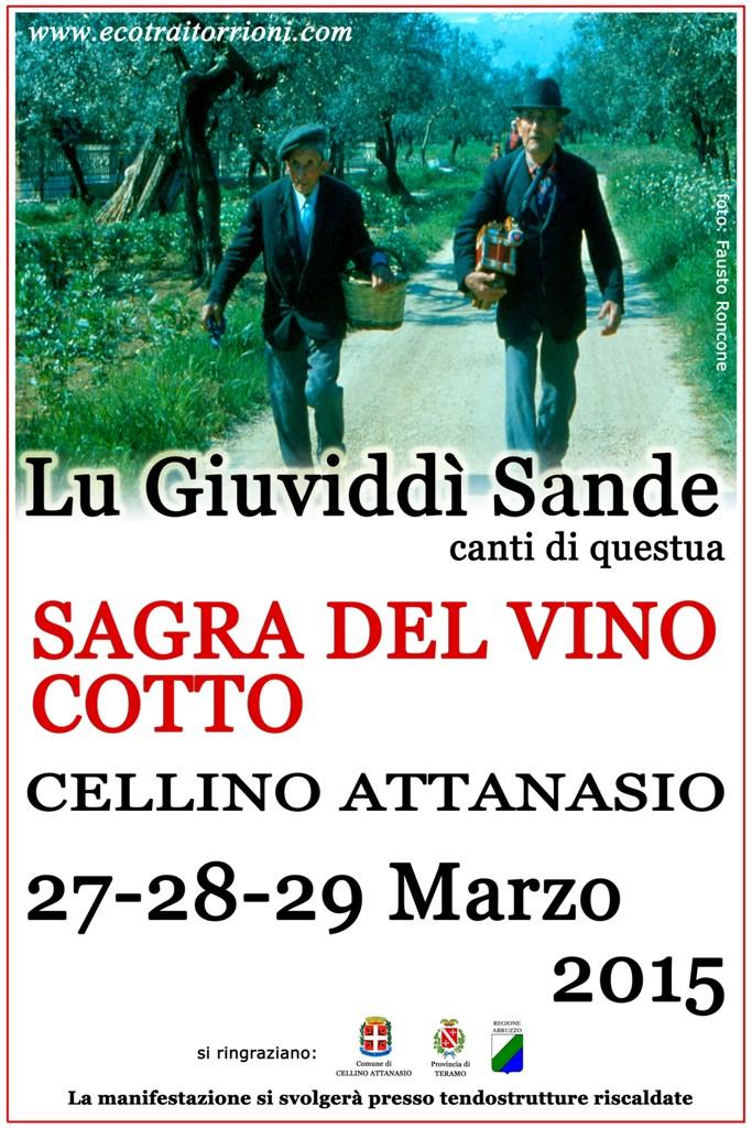 Lu Giuviddì Sande Dal 27 al 29 marzo 2015 Cellino Attanasio