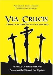 Via Crucis Castelnuovo Vomano 20/03/2015 ore 20:30