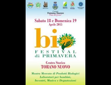 Biofestival di Primavera 18 19 Aprile Torano Nuovo