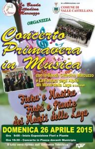 primavera In Musica Valle Castellana 26/04/2015