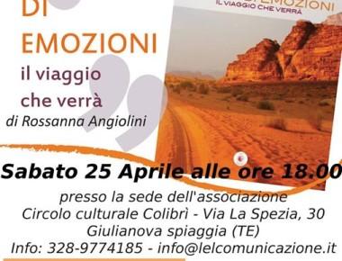 Gocce DI Emozioni Aperitivo Letterario 25/04/2015 Giulianova