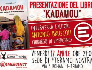 Presentazione Del Libro Kadamou 17/04/2015 Teramo