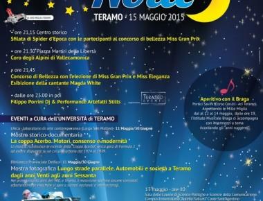 1000 MIGLIA E UNA NOTTE TERAMO 15/05/2015