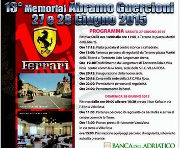Ferrari memorial Abramo Guercioni