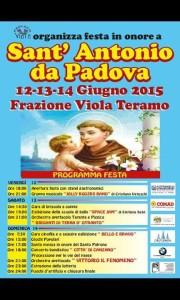 Festa in Onore di Sant' Antonio Frazione Viola
