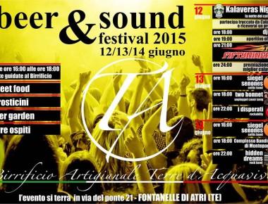 BEER & SOUND FESTIVAL 2015 Fontanelle di Atri