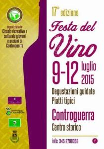 Festa del Vino Controguerra dal 9 al 12 luglio 2015