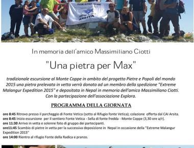 Escursione al Monte Coppe 1992 slm (PNGSL)
