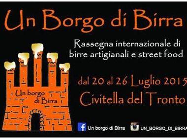 Un Borgo di Birra  dal 20-07al 26-07 a Civitella del Tronto