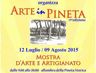 Arte in Pineta 12/07 9/08 a Pineto