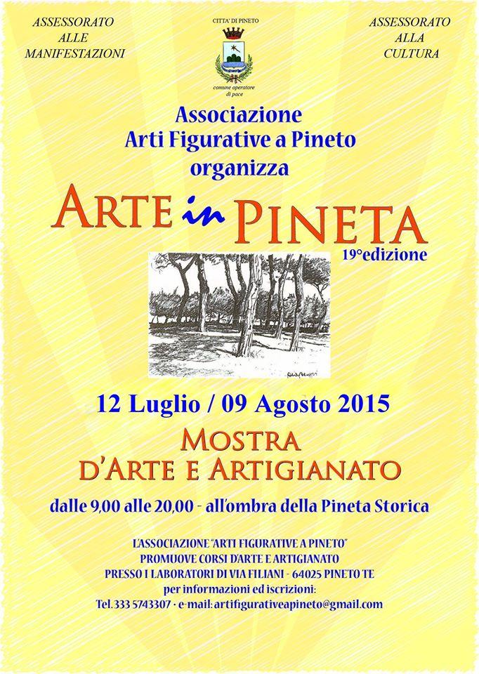 Arte in Pineta 12/07 9/08 a Pineto