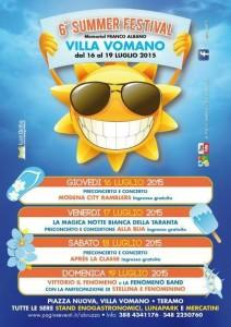 SUMMER FESTIVAL 2015 a Villa Vomano