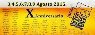 Festival Della Birre Artigianali 3-9 Agosto