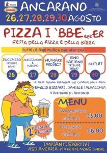 PIZZA I 'BBE'eeeER
