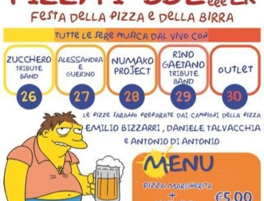 PIZZA I 'BBE'eeeER