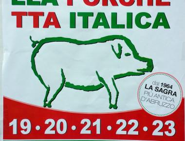 Sagra della porchetta italica di Campli