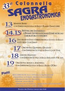Sagra Enogastronomica a Colonnella