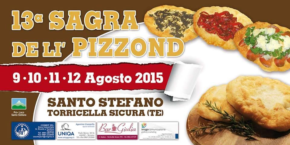 Sagra de li Pizzond 9, 10, 11 e 12 agosto 2015