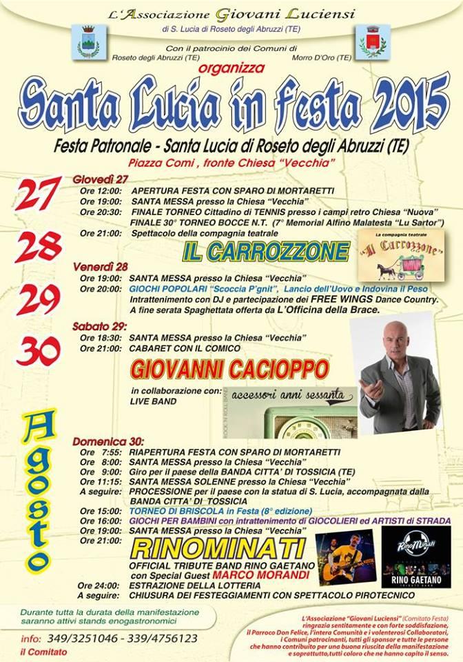 Festa patronale - Santa Lucia di Roseto Degli Abruzzi