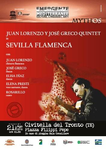 """Emergenze mediterranee: """"Sevilla flamenca"""" 21/08"""