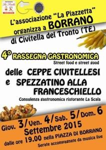 Ceppe Civitellesi e Spezzatino alla Franceschiello Borrano di Civitella Del Tronto