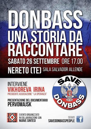 """""""DONBASS - UNA STORIA DA RACCONTARE"""""""