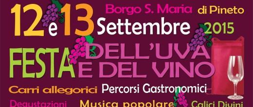 FESTA DELL'UVA E DEL VINO Borgo Santa Maria di Pineto 12-13/09