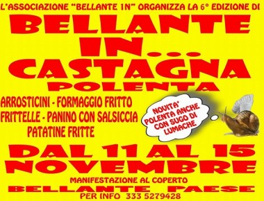 Bellante… in Castagna!