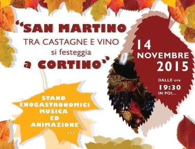 SAN MARTINO TRA CASTAGNE E VINO, Cortino