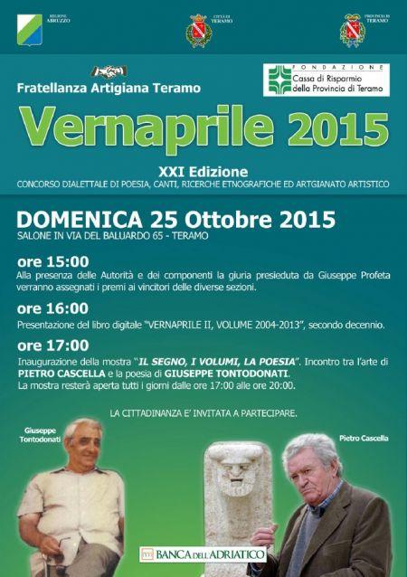 Vernaprile 2015 - XXI Edizione