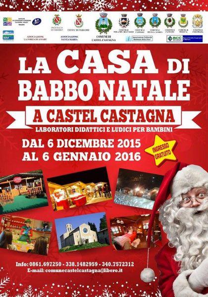 La Casa di Babbo Natale, Castel Castagna