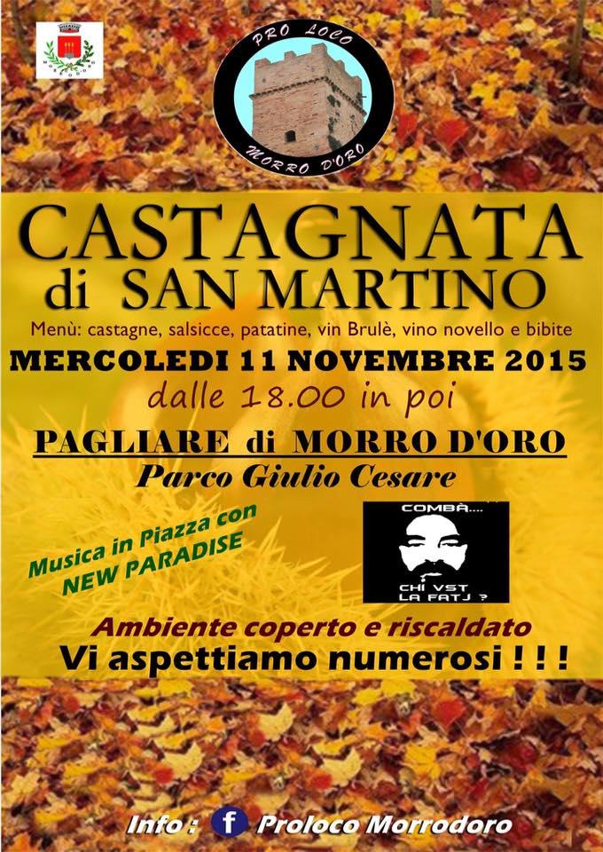 Castagnata Di San Martino