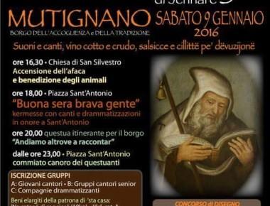 Mutignano – LU SAND'ANDONJE DE JENNARE
