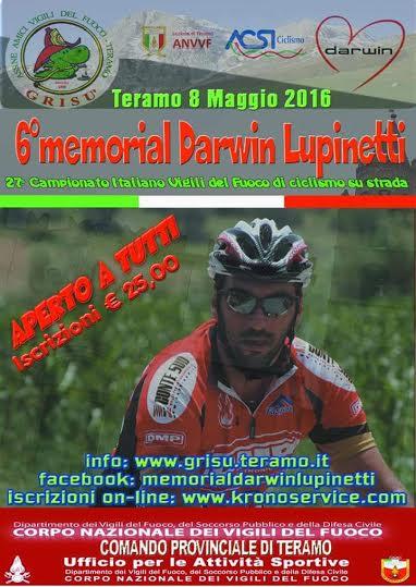 MEMORIAL LUPINETTI 8 MAGGIO 2016