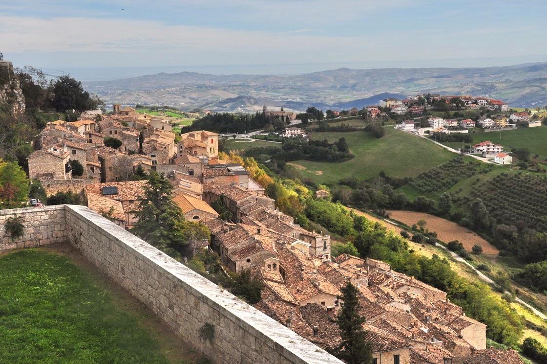 La fortezza borbonica di Civitella del Tronto