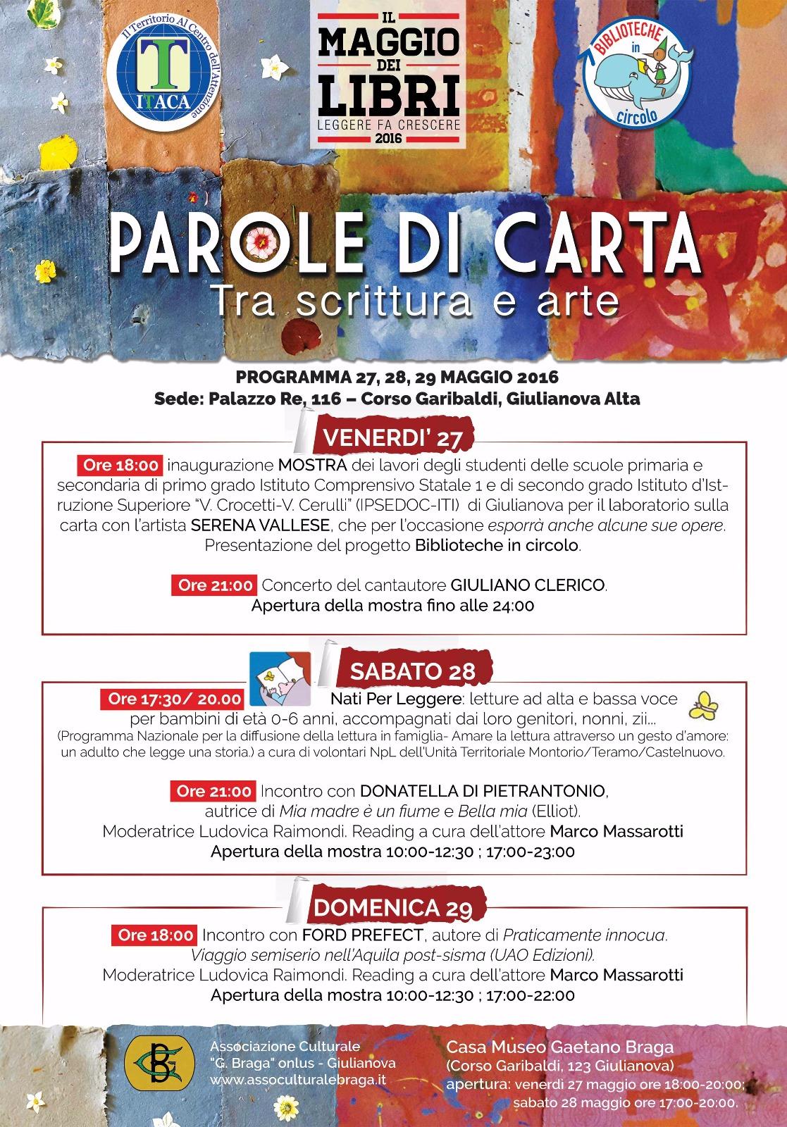 """""""PAROLE DI CARTA"""""""