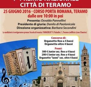 """1° Premio Nazionale """"CITTA' DI TERAMO"""""""