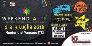 Montorio Al Vomano - WEEKEND'ARTE dal 1 al 3 luglio