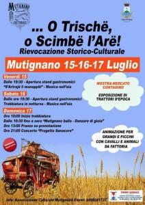 Mutignano di Pineto - O TRISCHË, O SCIMBË L' ARË 15/16/17 luglio 2016