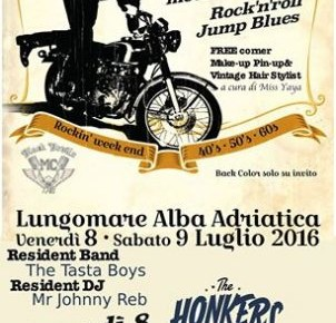 VINTAGE RUMBLE  ROCKIN' WEEK END 8/9 luglio 2016